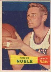 1957-58 Topps #11 Chuck Noble DP