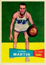 1957-58 Topps #12 Slater Martin DP RC