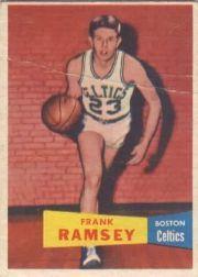 1957-58 Topps #15 Frank Ramsey DP RC