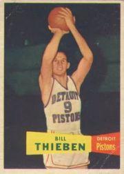 1957-58 Topps #20 Bill Thieben DP
