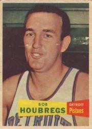 1957-58 Topps #56 Bob Houbregs DP RC