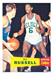 1957-58 Topps #77 Bill Russell RC