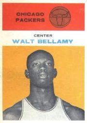 1961-62 Fleer #4 Walt Bellamy RC