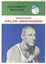 1961-62 Fleer #5 Arlen Bockhorn