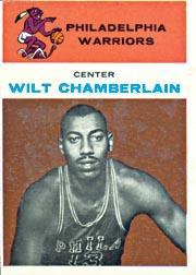 1961-62 Fleer #8 Wilt Chamberlain RC