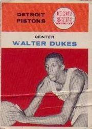 1961-62 Fleer #11 Walter Dukes