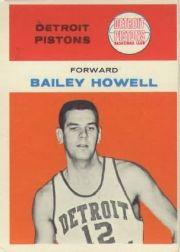 1961-62 Fleer #20 Bailey Howell RC