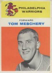 1961-62 Fleer #31 Tom Meschery RC