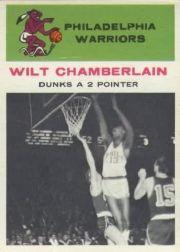 1961-62 Fleer #47 Wilt Chamberlain IA !