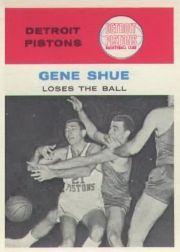 1961-62 Fleer #64 Gene Shue IA