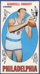 1969-70 Topps #4 Darrall Imhoff RC