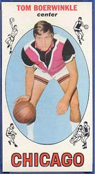 1969-70 Topps #7 Tom Boerwinkle RC