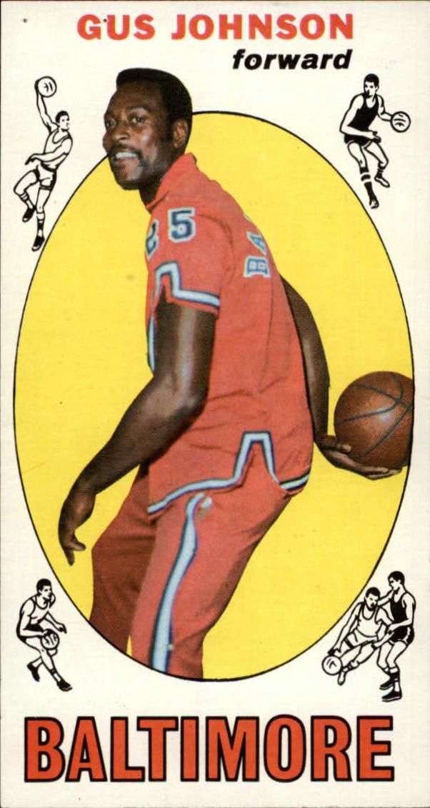 1969-70 Topps #12 Gus Johnson RC