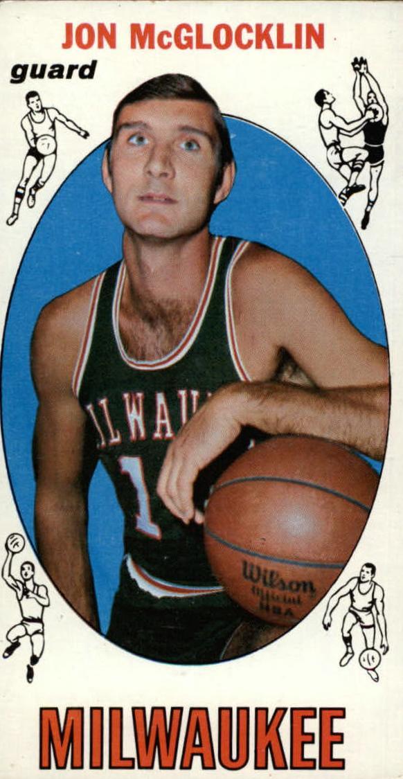 1969-70 Topps #14 Jon McGlocklin RC