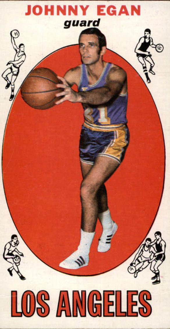 1969-70 Topps #16 Johnny Egan