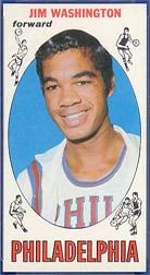 1969-70 Topps #17 Jim Washington