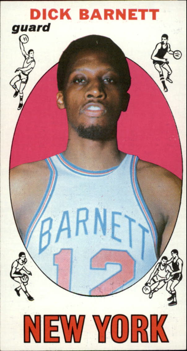1969-70 Topps #18 Dick Barnett RC