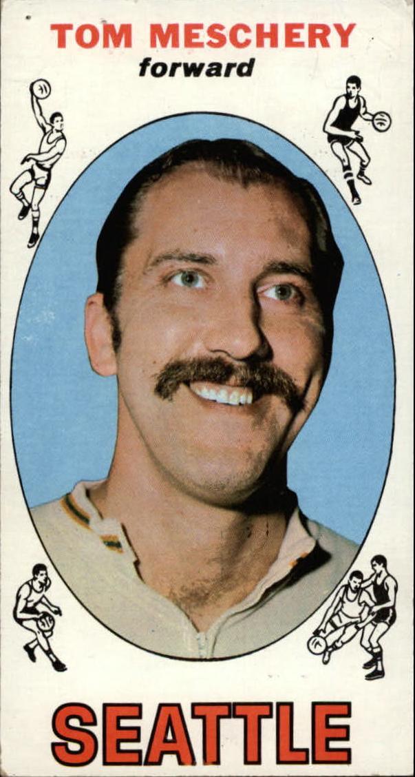 1969-70 Topps #19 Tom Meschery