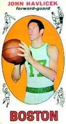 1969-70 Topps #20 John Havlicek RC