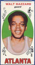 1969-70 Topps #27 Walt Hazzard RC