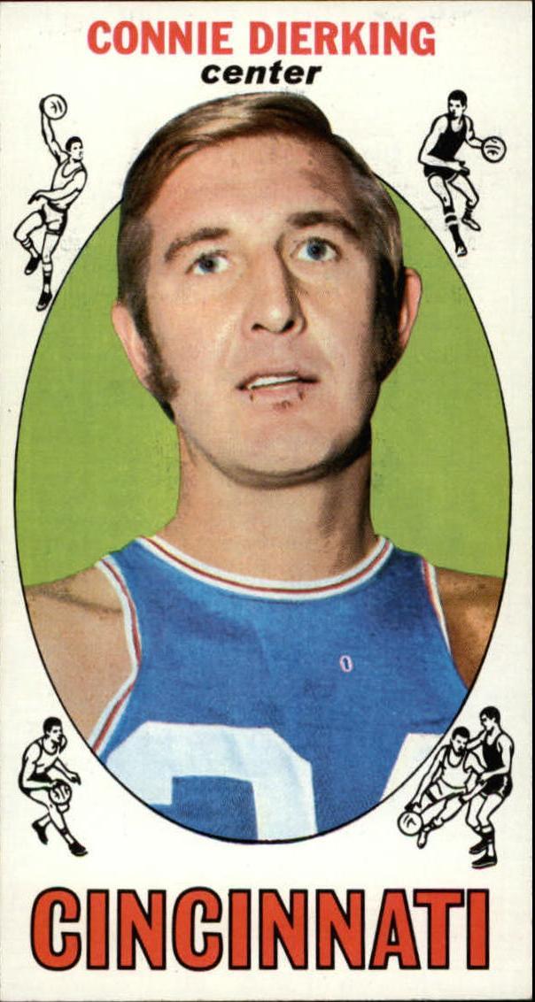 1969-70 Topps #28 Connie Dierking