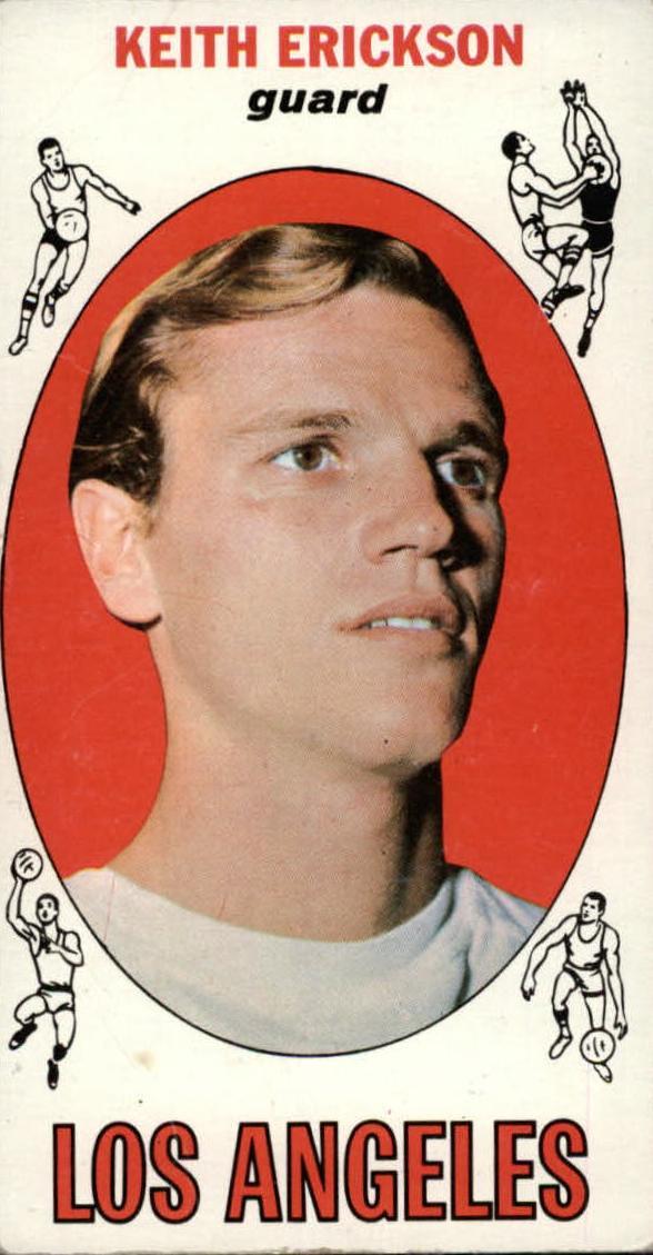 1969-70 Topps #29 Keith Erickson RC