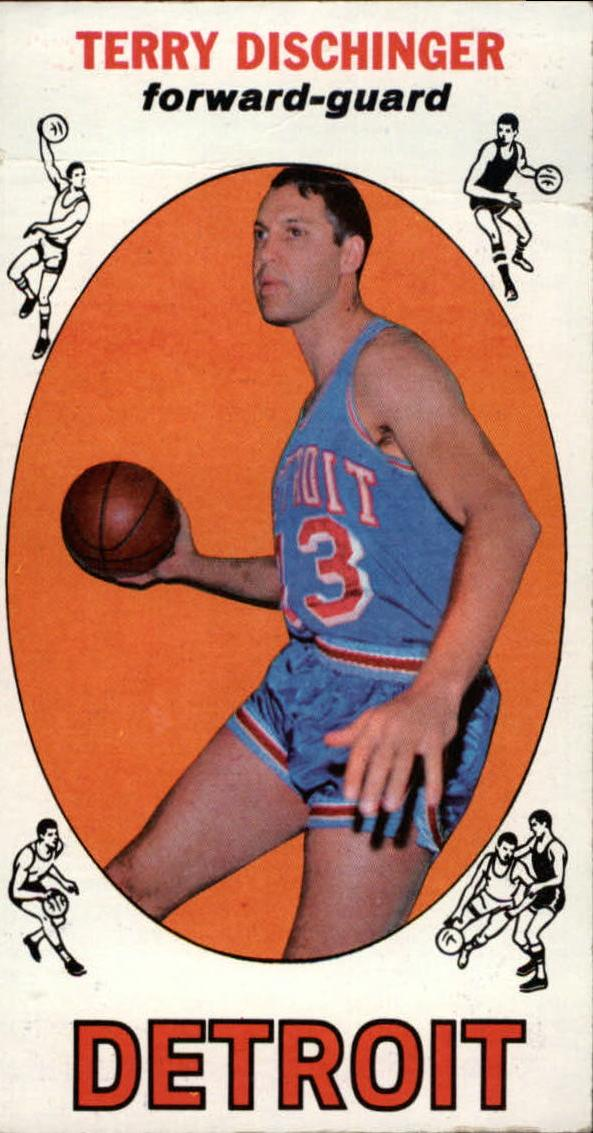1969-70 Topps #33 Terry Dischinger RC
