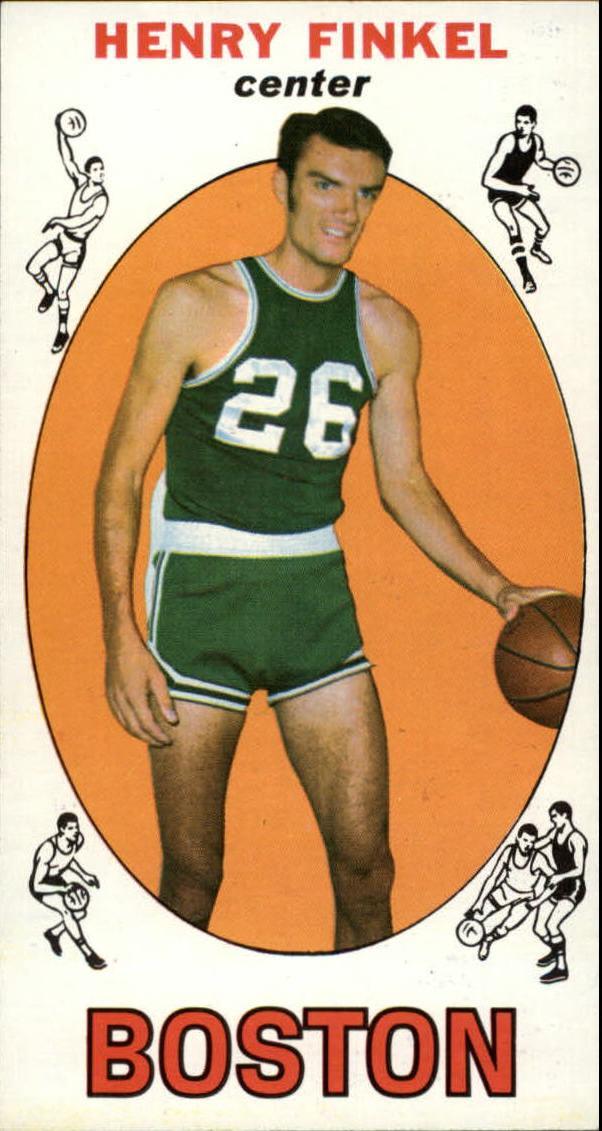 1969-70 Topps #34 Henry Finkel RC