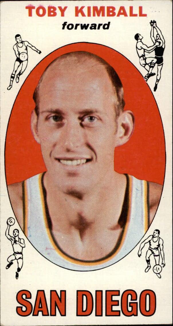 1969-70 Topps #39 Toby Kimball