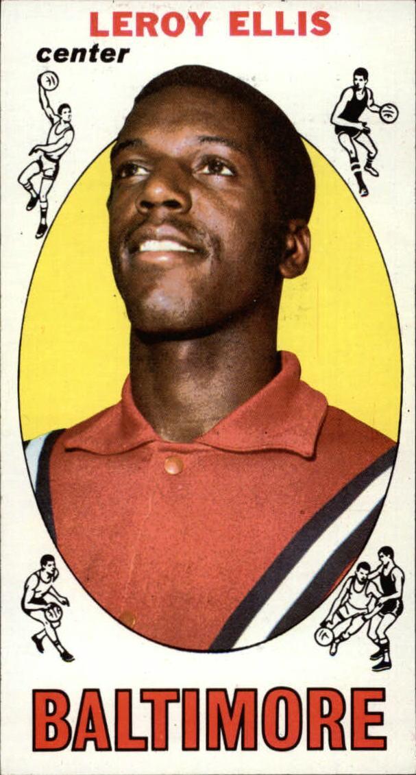 1969-70 Topps #42 Leroy Ellis RC