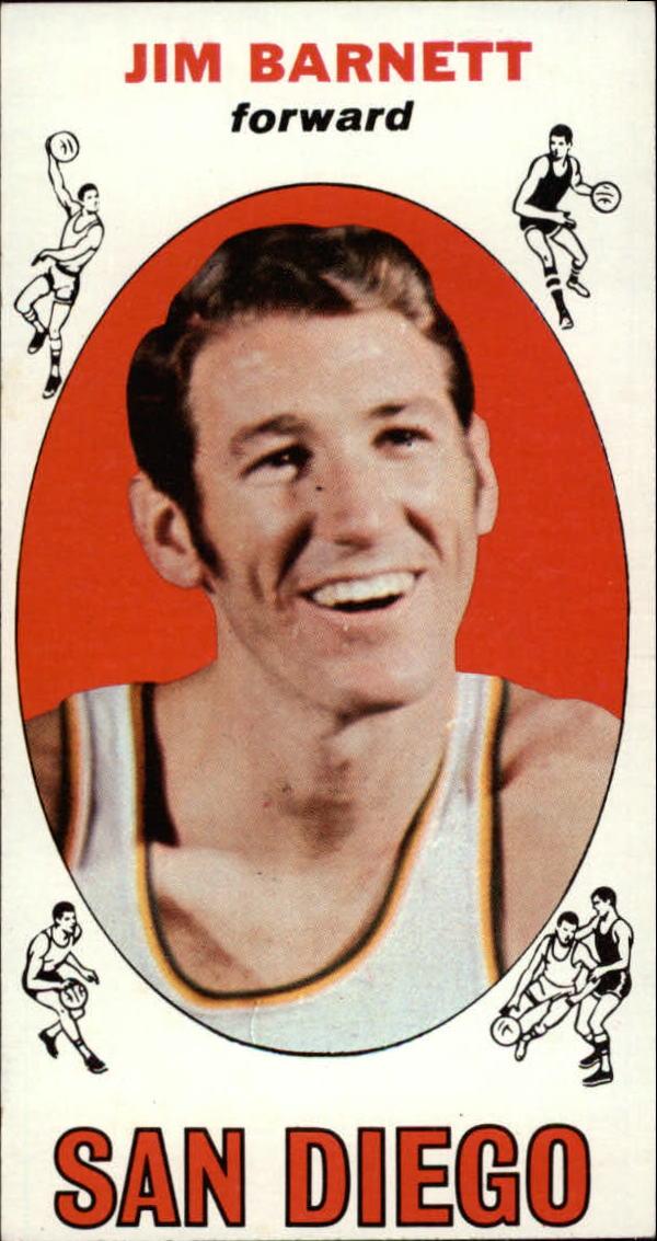 1969-70 Topps #51 Jim Barnett RC
