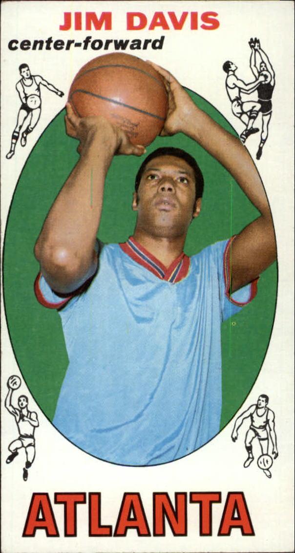 1969-70 Topps #53 Jim Davis