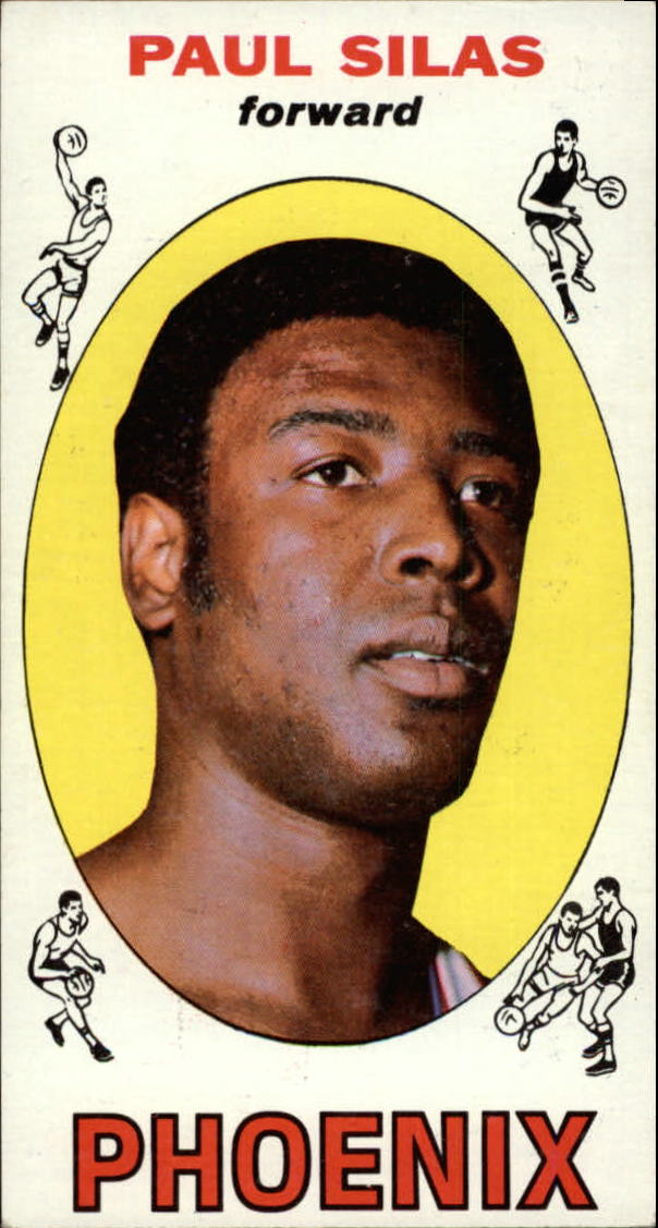 1969-70 Topps #61 Paul Silas RC