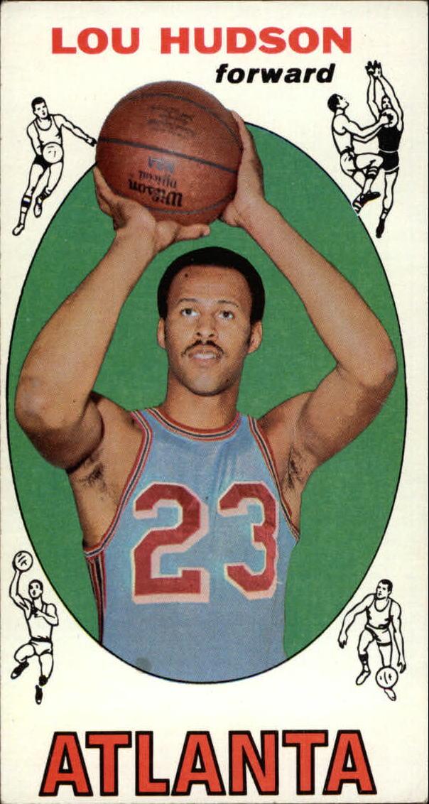 1969-70 Topps #65 Lou Hudson RC