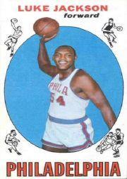 1969-70 Topps #67 Luke Jackson RC