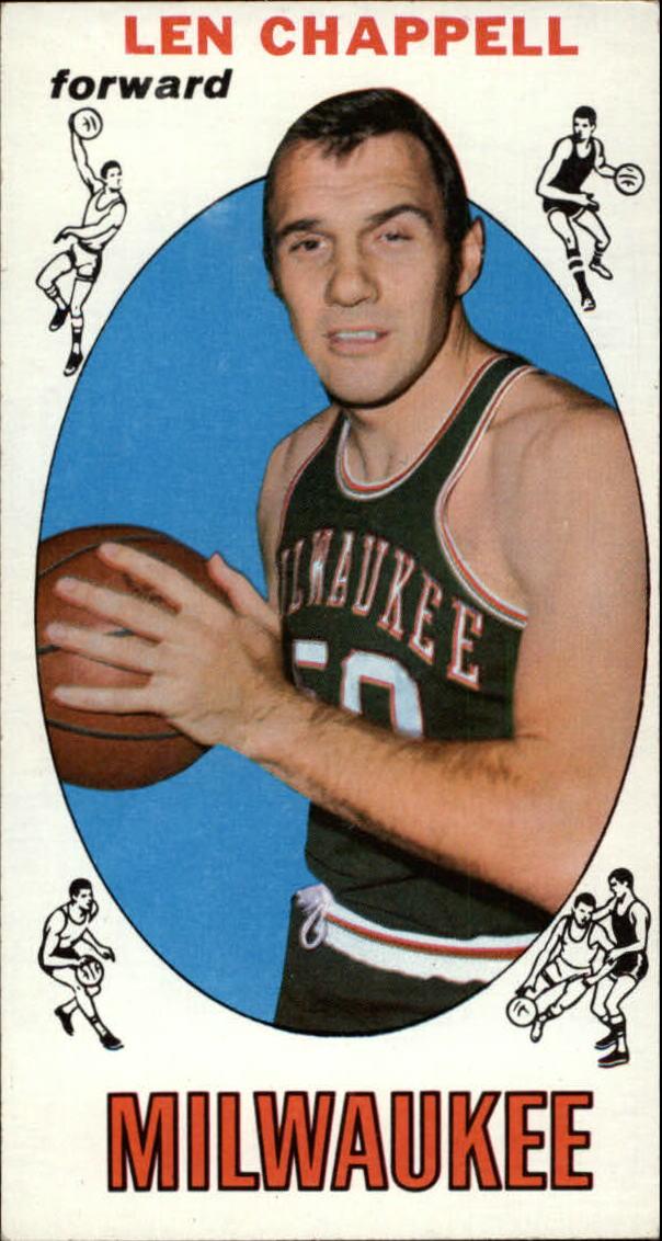 1969-70 Topps #68 Len Chappell RC