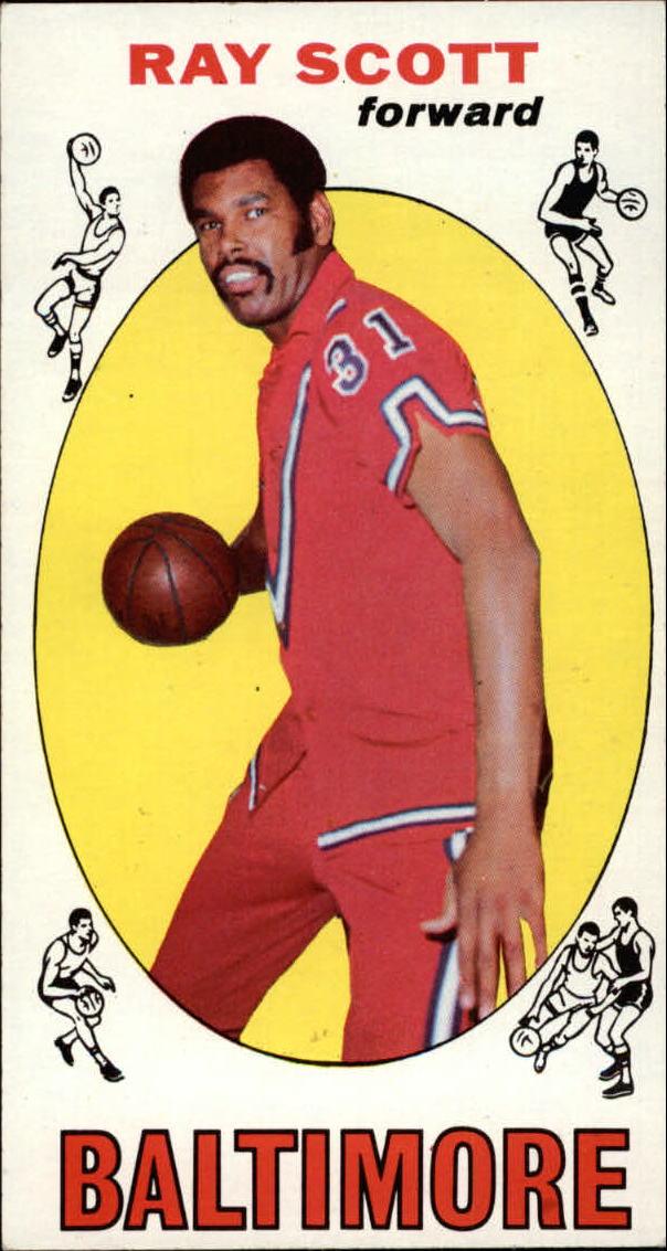 1969-70 Topps #69 Ray Scott