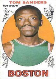 1969-70 Topps #72 Tom Sanders RC
