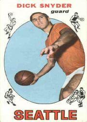 1969-70 Topps #73 Dick Snyder