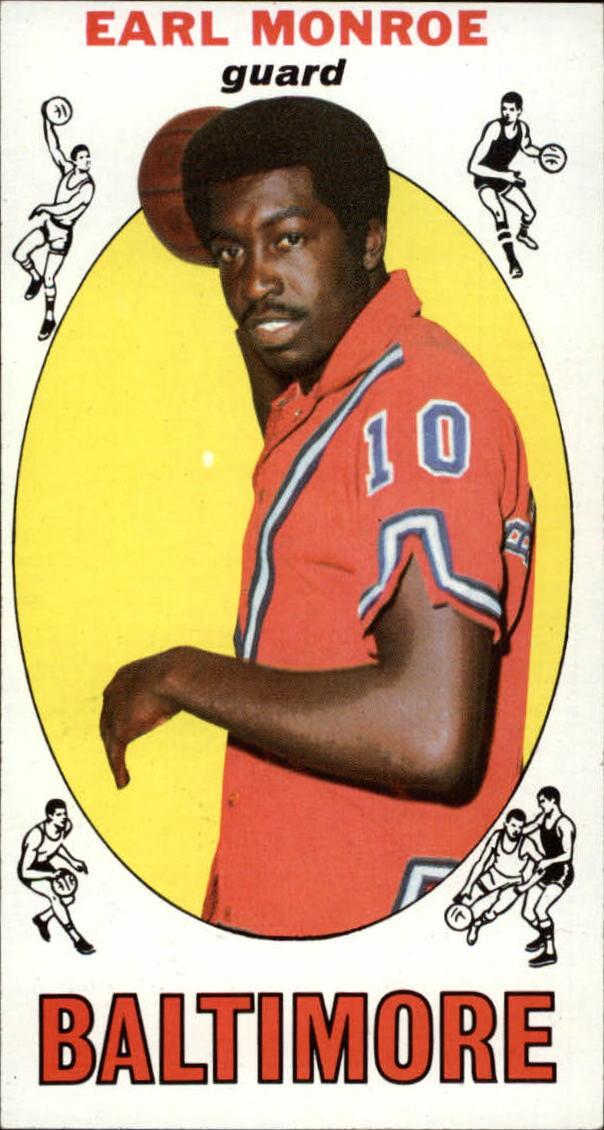 1969-70 Topps #80 Earl Monroe RC