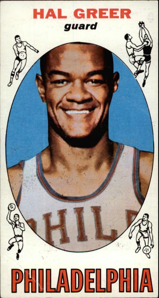 1969-70 Topps #84 Hal Greer