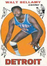 1969-70 Topps #95 Walt Bellamy