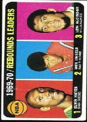 1970-71 Topps #5 Elvin Hayes/Wes Unseld/Lew Alcindor LL