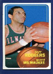 1970-71 Topps #22 Guy Rodgers