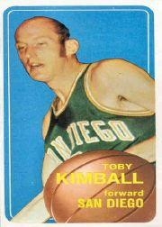 1970-71 Topps #32 Toby Kimball SP