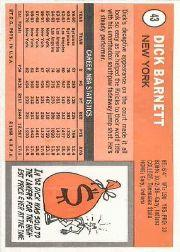 1970-71 Topps #43 Dick Barnett back image