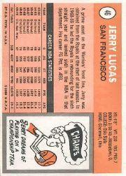 1970-71 Topps #46 Jerry Lucas back image
