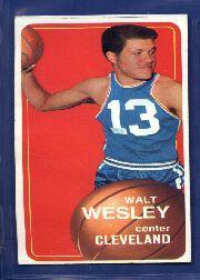 1970-71 Topps #55 Walt Wesley