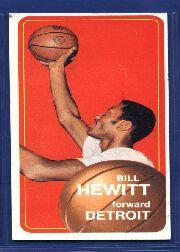 1970-71 Topps #56 Bill Hewitt