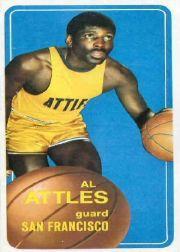 1970-71 Topps #59 Al Attles SP